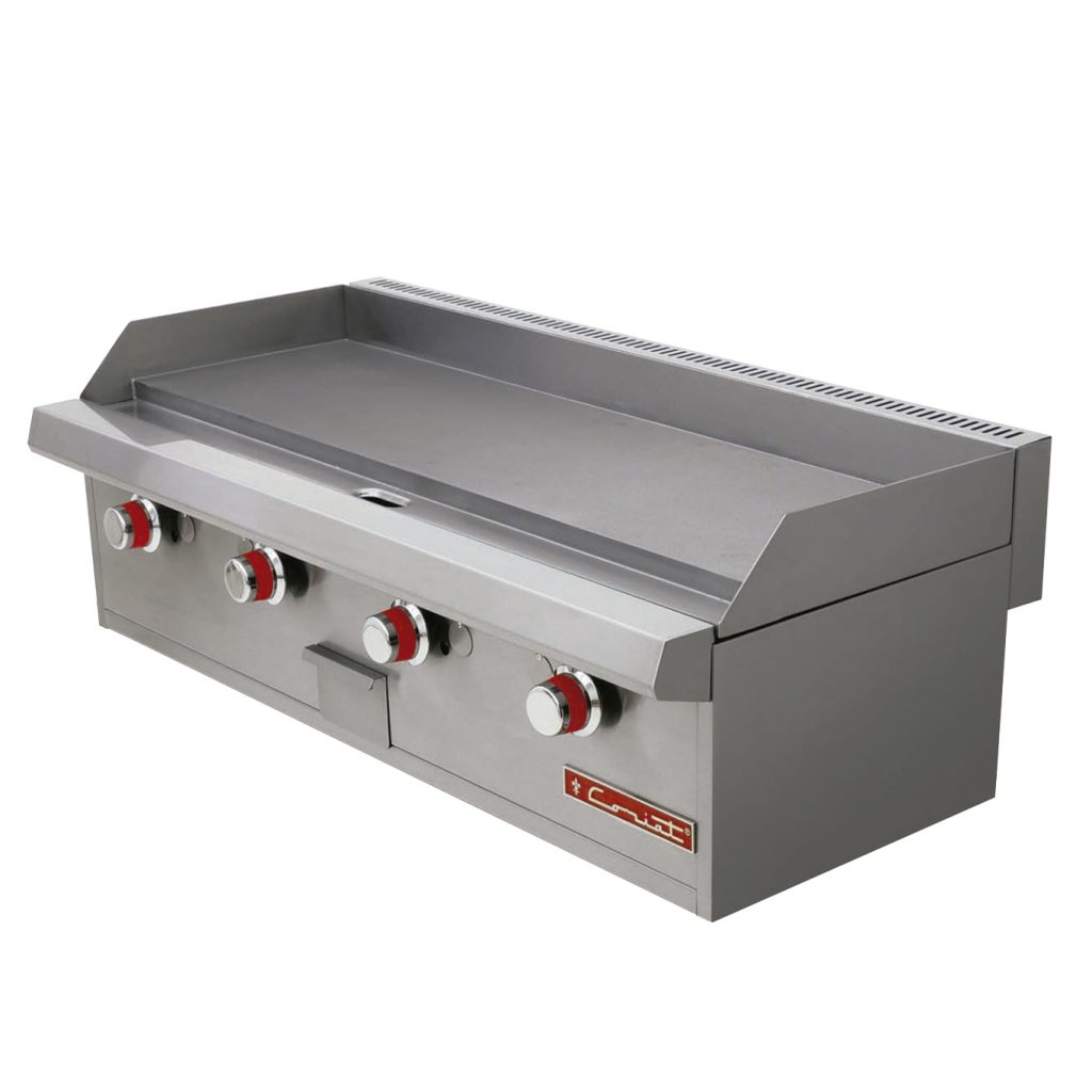 Plancha a gas tipo grill marca coriat mod ch 4 petit for Plancha industrial
