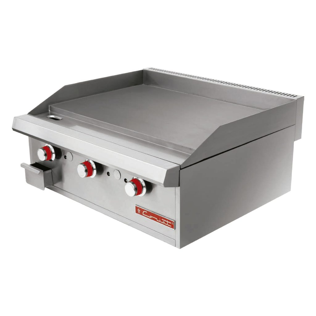 Plancha a gas tipo grill marca coriat mod cv 3 master for Plancha industrial