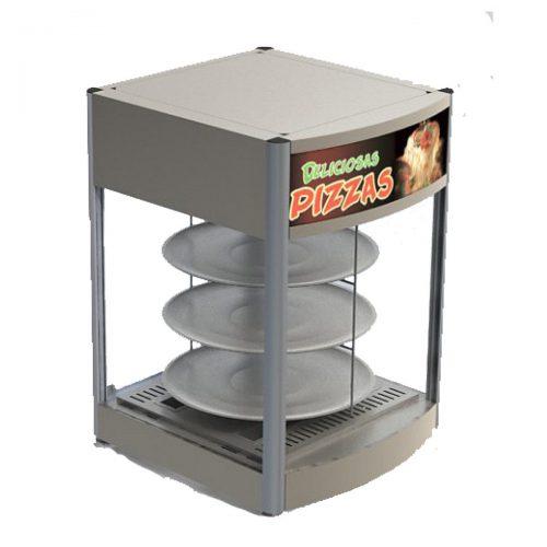 Vitrina exhibidora para pizzas