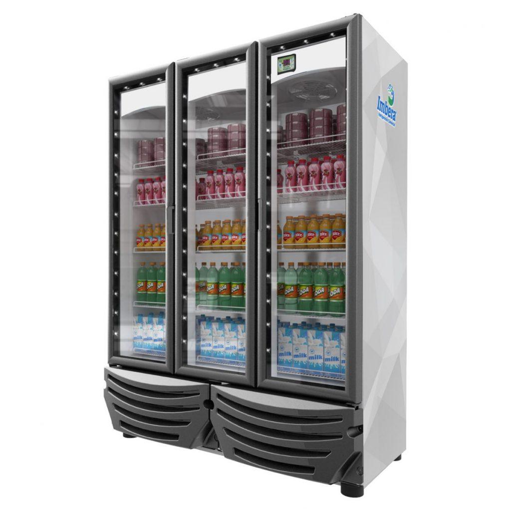Refrigerador industrial de 3 puertas marca imbera mod g342 3 equipos comerciales antequera - Nevera congelador dos puertas ...
