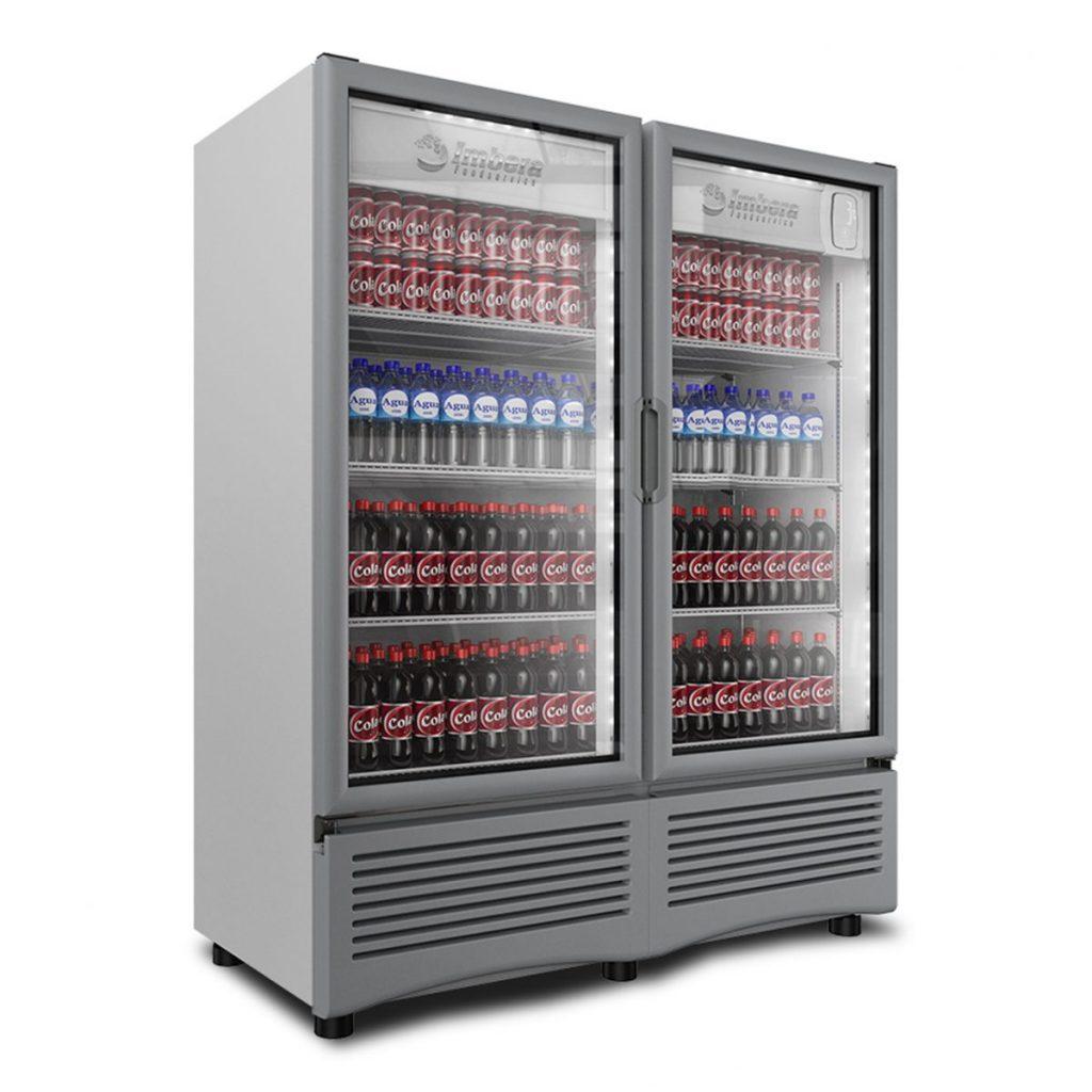 Refrigerador industrial de 2 puertas 34.1 pies