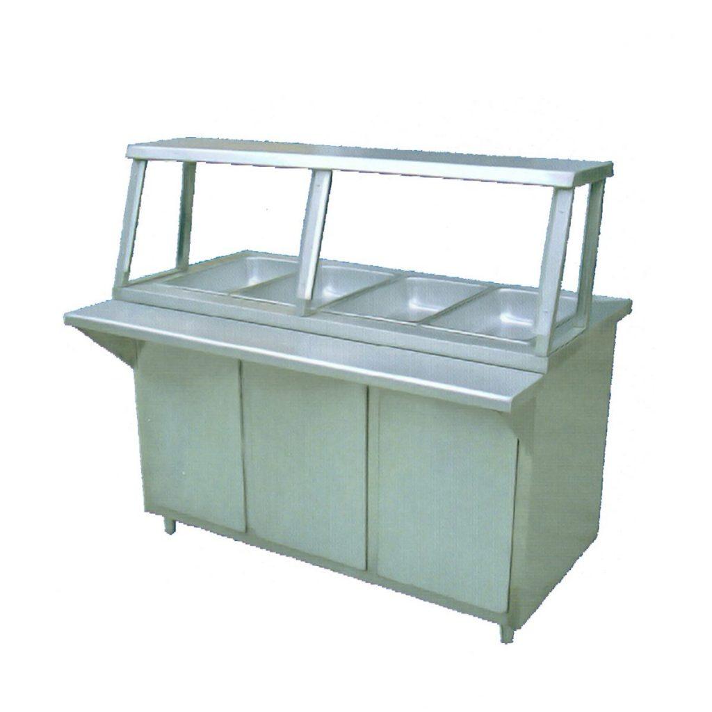 Mesa caliente o ba o mar a marca ryse mod mcg 400 for Bano maria industrial
