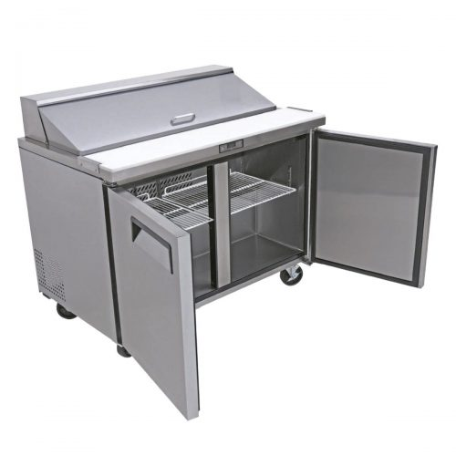 Mesa refrigerada para preparacion de sandwiches