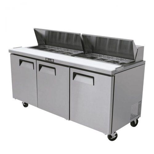 Mesa fria para Preparacion de ensaladas y sandwiches