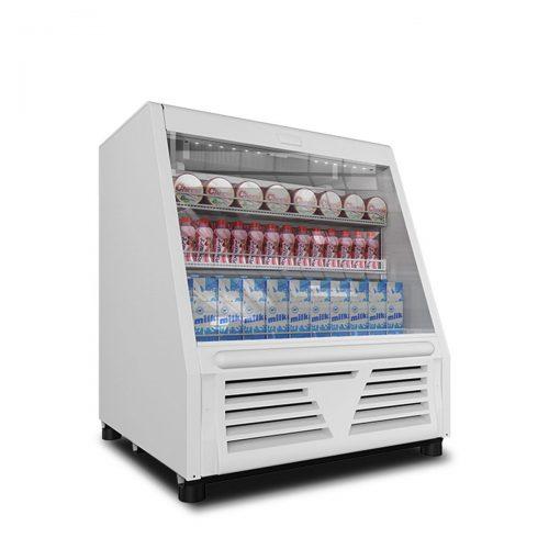 Vitrina refrigerada para lacteos