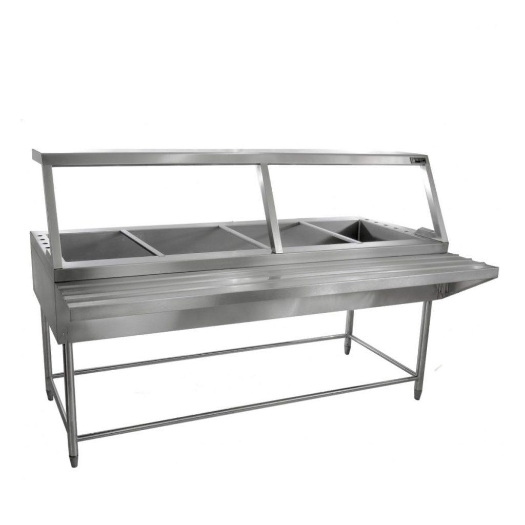 Mesa caliente o ba o mar a acero inoxidable marca faesa for Jaboneras para bano de acero inoxidable