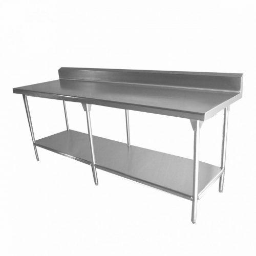 mesa de trabajo con cubierta nylamid acero inoxidable