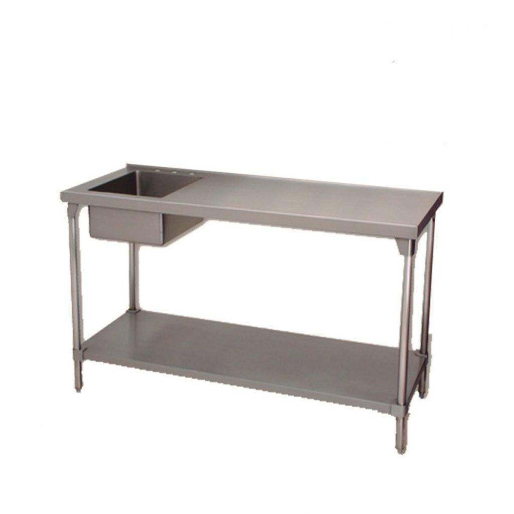Mesa de trabajo en isla con tarja acero inoxidable marca faesa mod mis equipos comerciales - Mesa de trabajo acero inoxidable ...