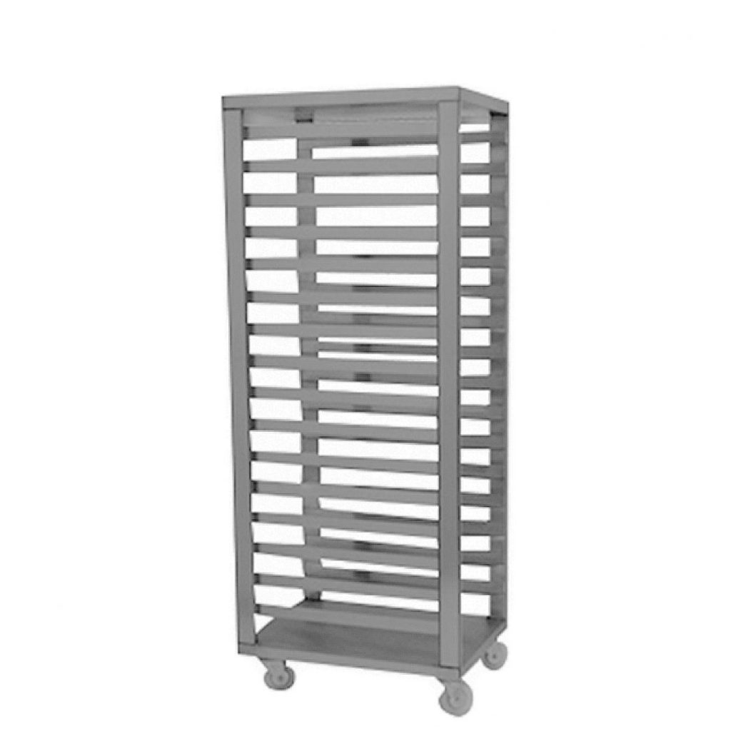 Rack Charolas Acero Inoxidable