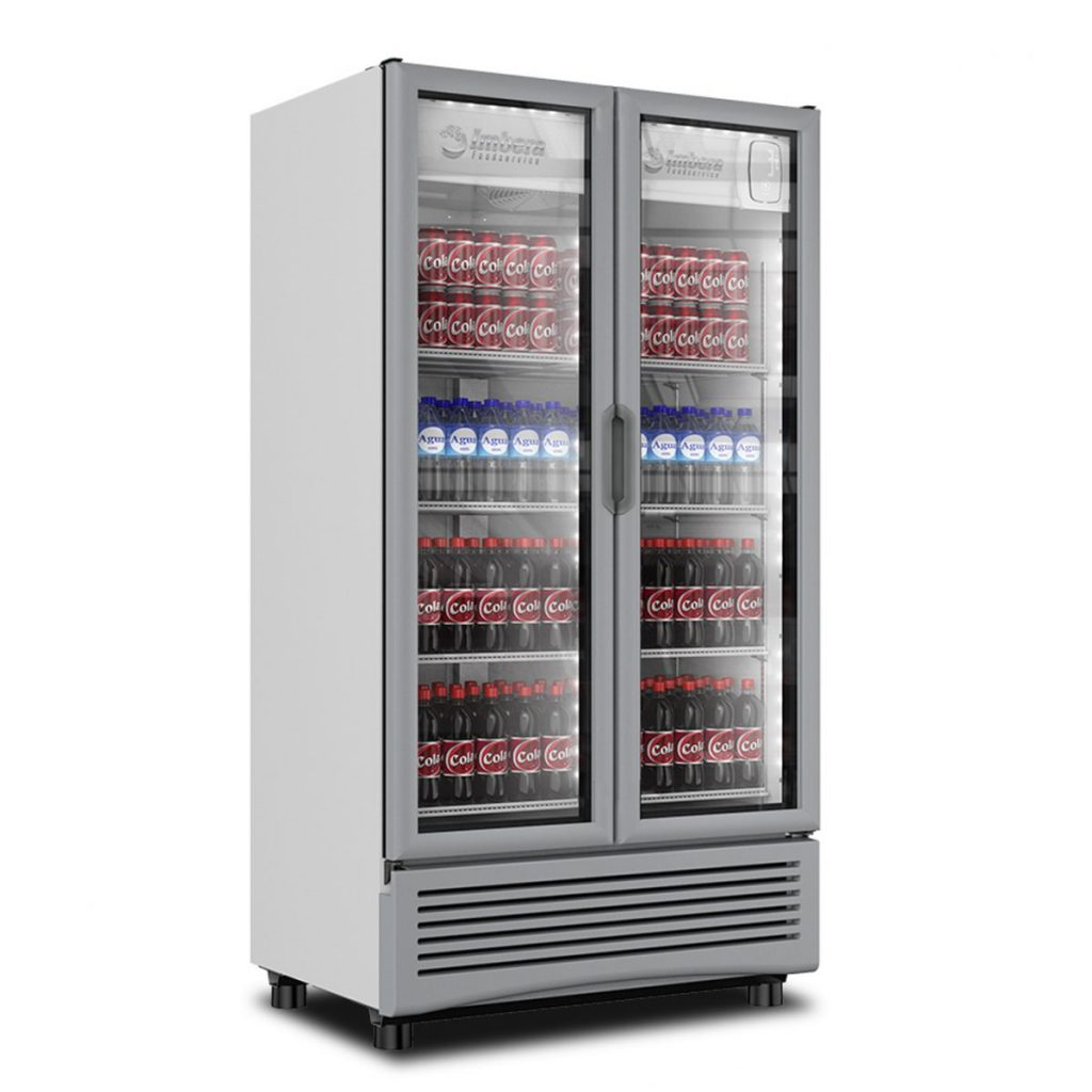 Refrigerador industrial 2 puertas 24.9 pies
